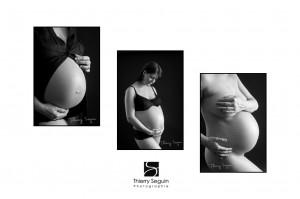 Photo femme enceinte par Thierry Seguin Photographie