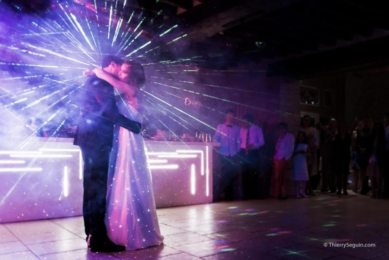 ouverture soirée dansante par les mariés