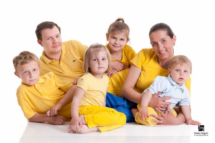photo de famille aujou