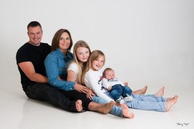 séance photo famille et nouveau né