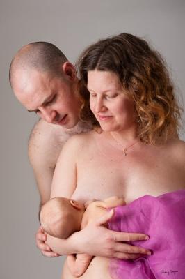 allaitement-tétée de nouveau-né
