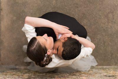 Photo de couple mariage à Versailles