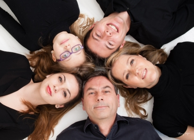 Portrait de famille en étoile