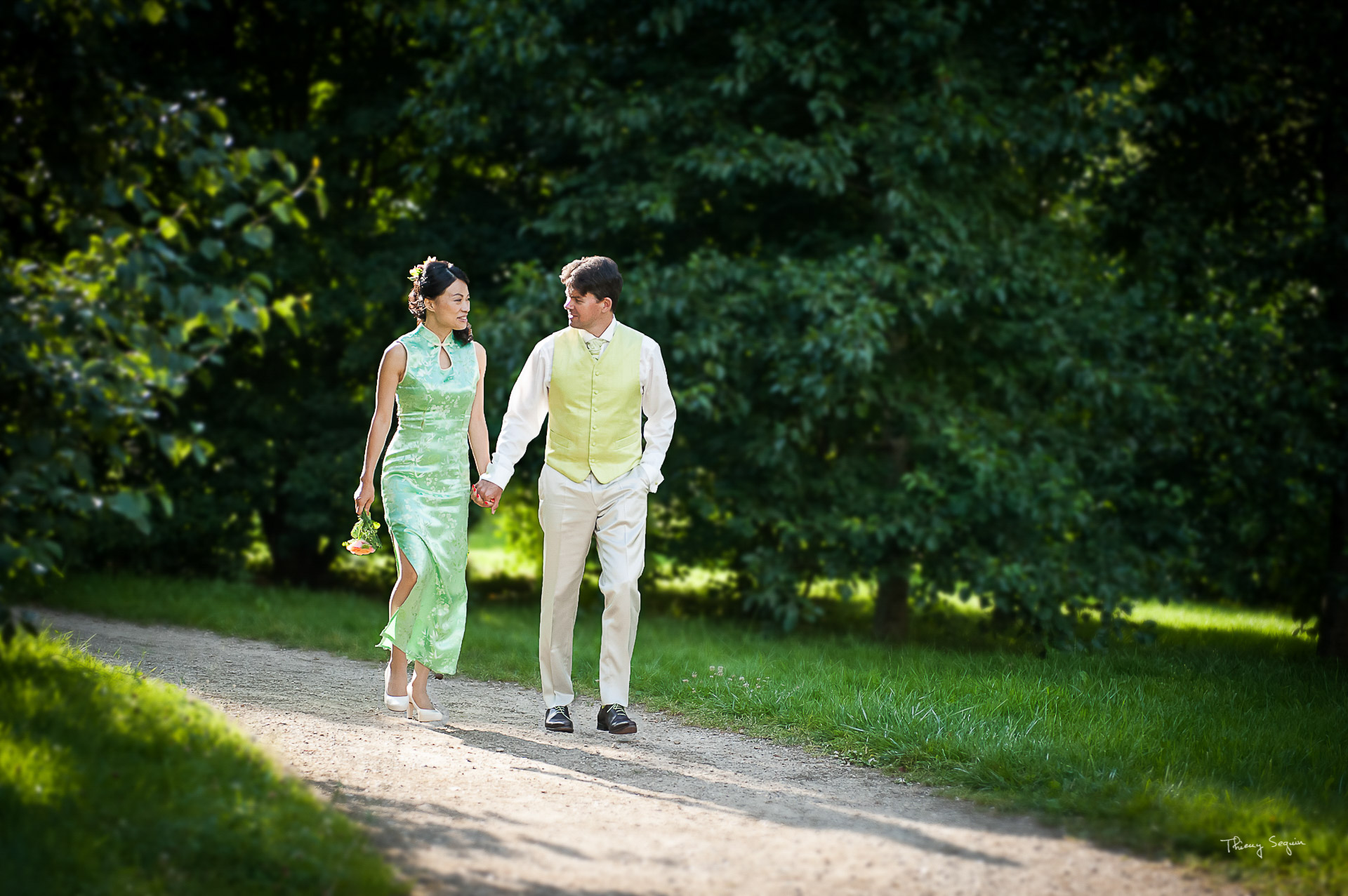 Photo de couple de mariés Versailles seguin_thierry_n°12 (couple mariage)