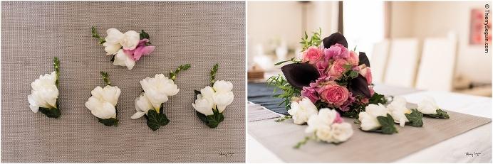 02 bouquet mariée et boutonnières