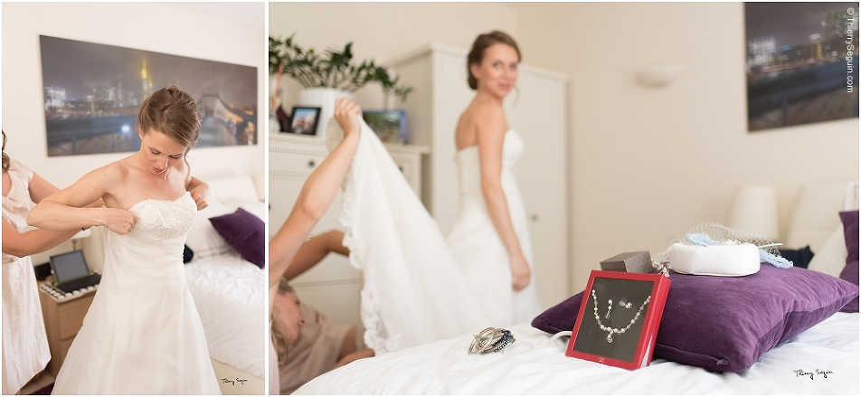 11 habillage mariée