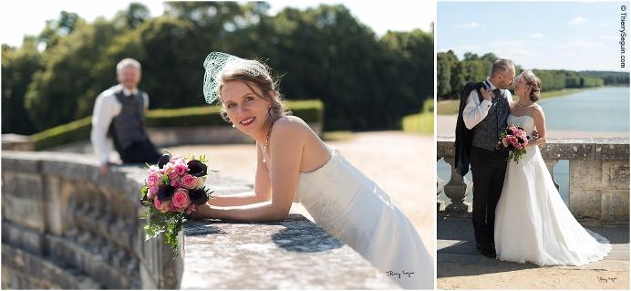 28 photo couple mariés domaine de la Reine Versailles