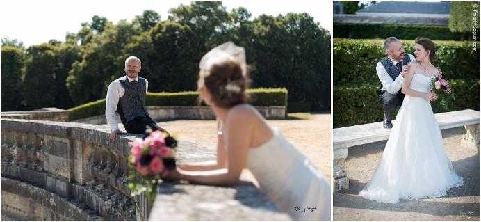 29 photo couple mariés domaine de la Reine Versailles