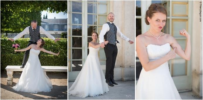 31 photo couple mariés domaine de la Reine Versailles