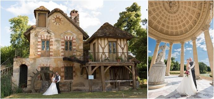 33 photo couple mariés domaine de la Reine Versailles