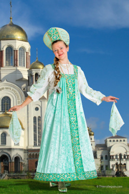 Costume Russe de Sibérie