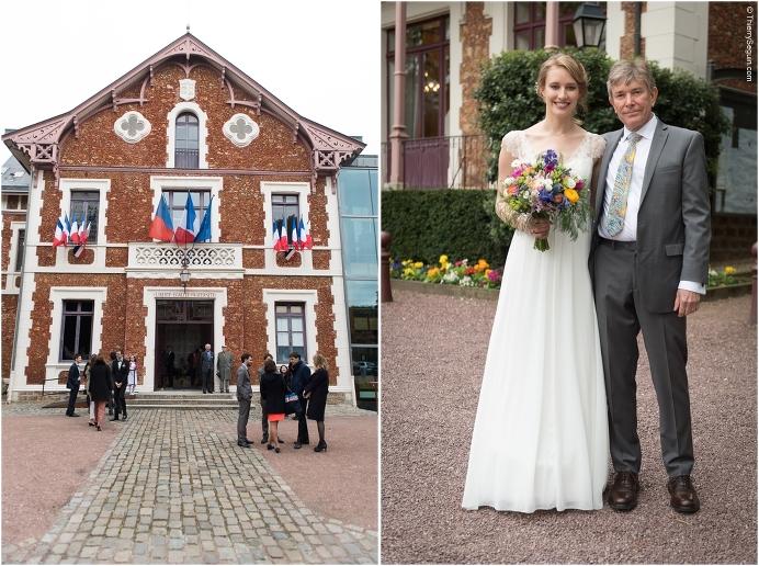 Erin et Romain 1 - Photographe de Mariage Mairie de Viroflay