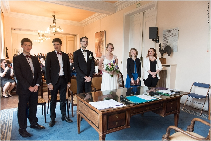 Erin et Romain 3 - Photographe de Mariage Mairie de Viroflay