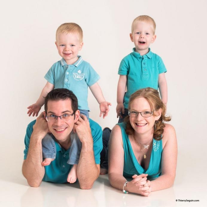 portraits pour Noël en famille à guyancourt