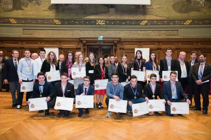 Photographe de reportage - Groupe régional de Lauréats du concours Un des Meilleurs Apprentis de France 2016