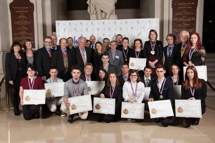 Photocall Lauréats du concours Un des Meilleurs Apprentis de France 2016