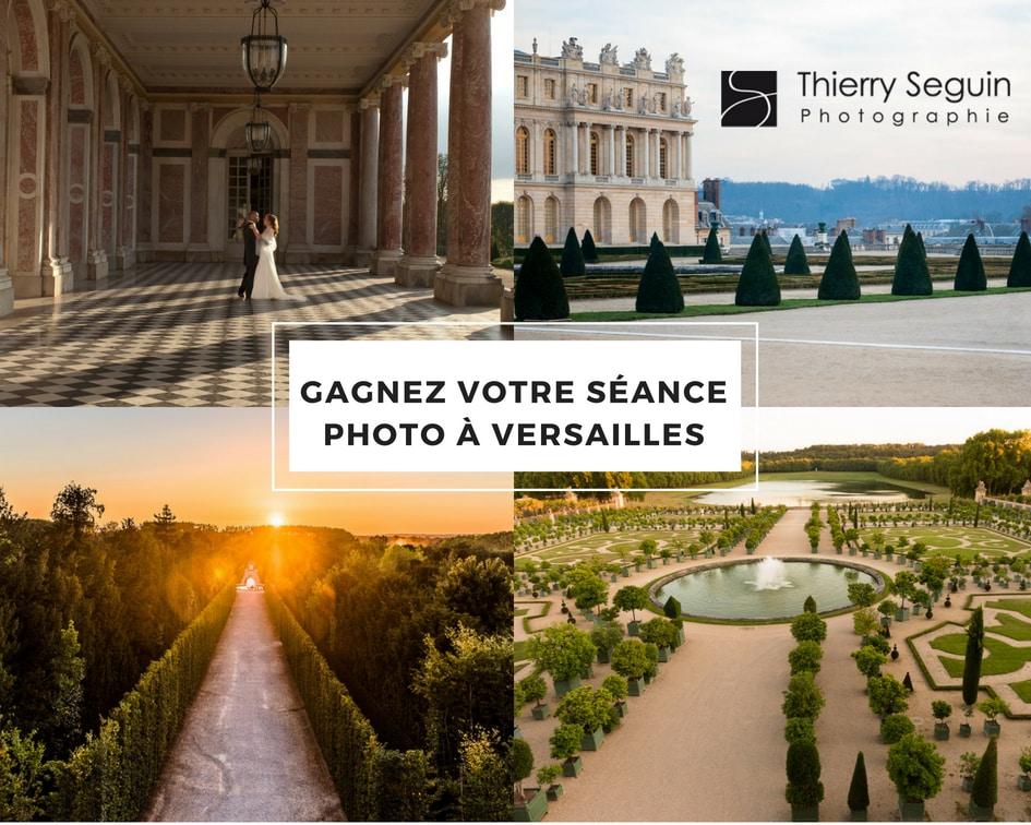 Séance photo offerte Versailles