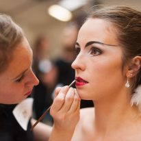 Reportage épreuve maquillage MAF