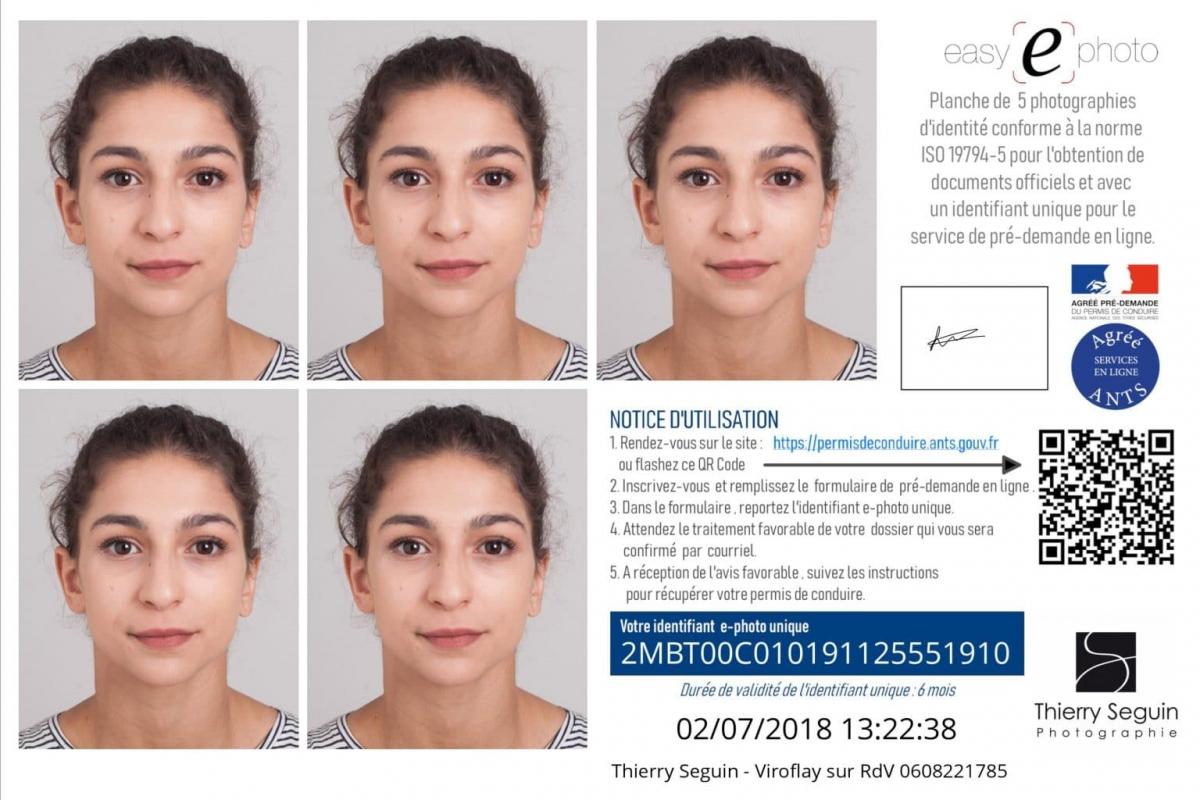 Photos Didentité Versailles Passeport Permis Visa Inde