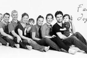 Portraits de familles Joyeuses en Yvelines